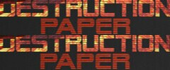 Destruction Paper Trainer