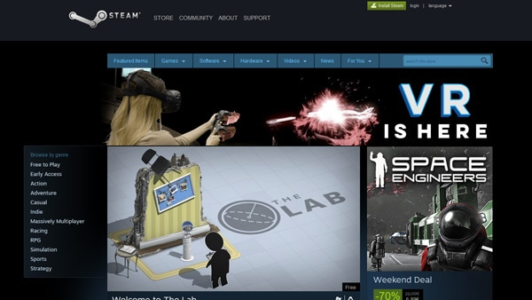 Steam's Battle for the Living Room
