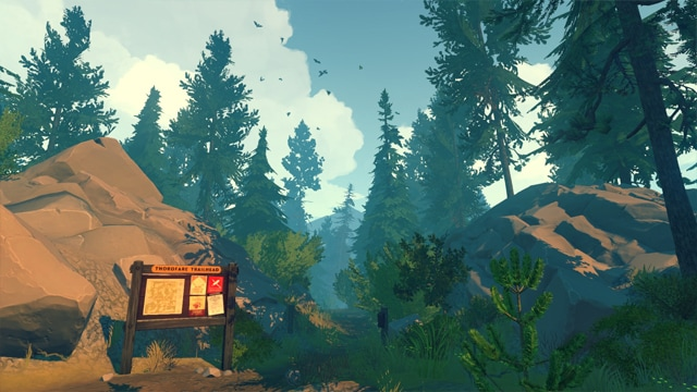 Firewatch Review Screenshot
