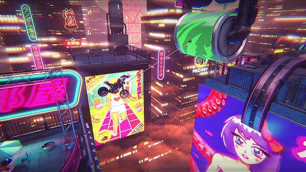 Trials of the Blood Dragon Review Screenshot