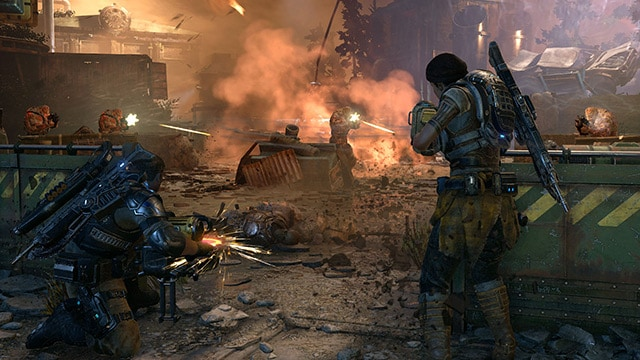 Gears of War 4 Review Screenshot