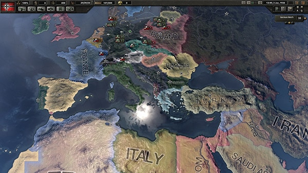 Hearts of Iron IV Review Screenshot
