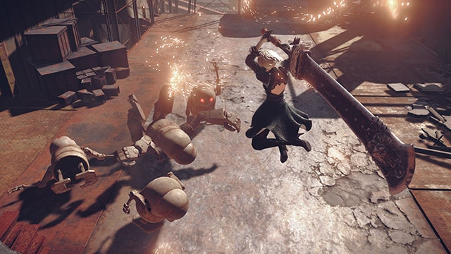 Nier: Automata Review Screenshot