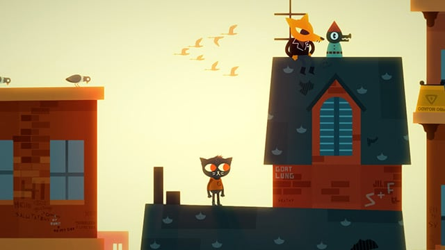 Night in the Woods Review Screenshot