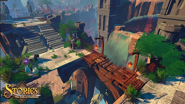 Stories: The Path of Destinies Review Screenshot
