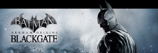Batman: Arkham Origins - Blackgate Trainer