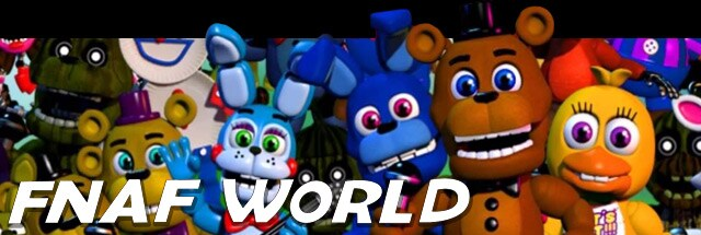 FNAF World Message Board for PC