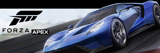 Forza Motorsport 6 Apex Message Board for PC