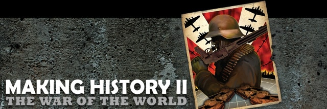 Making History II: The War of the World Trainer, Cheats for PC