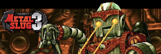 Metal Slug 3 Message Board for Playstation 4
