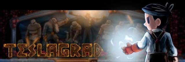 Teslagrad Message Board for Playstation Vita