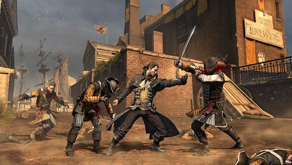 Assassin's Creed: Rogue Review Screenshot