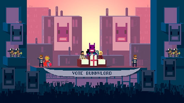 Not a Hero Review Screenshot