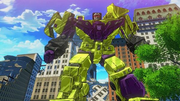 Transformers Devastation Review Screenshot