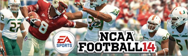 NCAA Football 14 Cheats for XBox 360